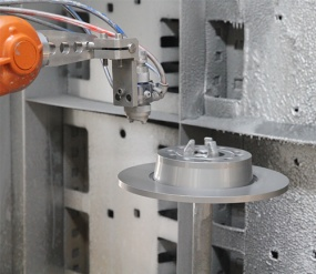 Recubrimiento de escamas de zinc sin cromo para disco de freno JH-310
