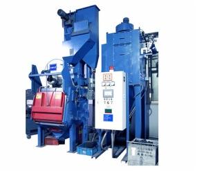 Máquina automática de granallado / Equipo de granallado industrial Q326